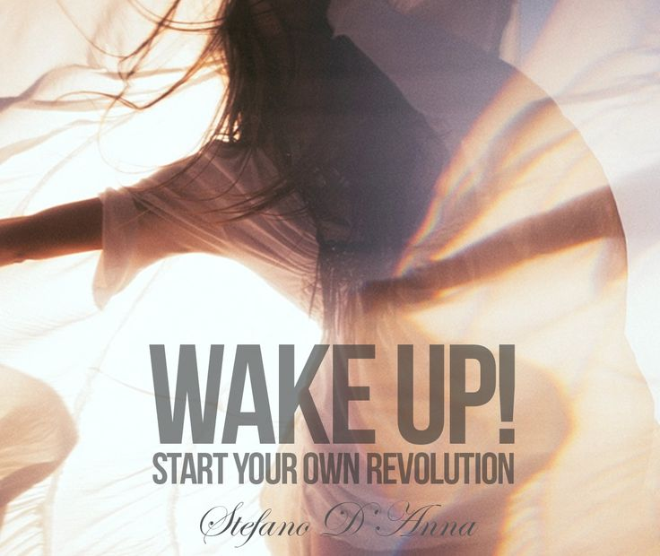 Wake up !!  Start your own revolution !!  The School for Gods, The book by Stefano D'Anna www.sinediepublishing.com