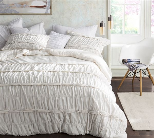 Torrent Handcrafted Series King Comforter - Oversized King XL - Jet Stream