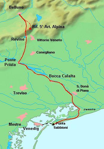 Zu Fuss von München nach Venedig: der Traumpfad