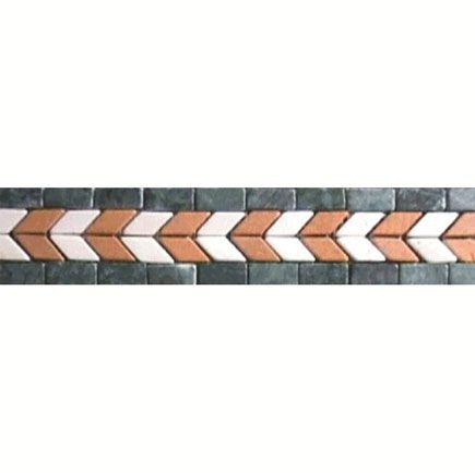 Salerno Series   Mosaic Borders Flooring Motif   Bathroom Tiles   Colourful Tiles   Floor Tiles