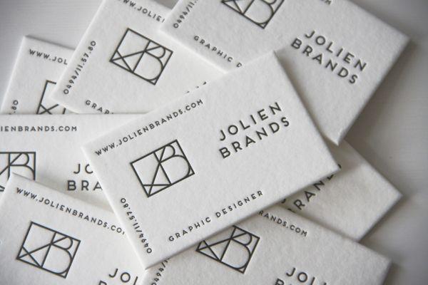 Jolien Brands - Business Cards