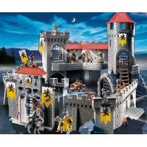 Playmobil 4865 Chateau fort des chevaliers du Lion 140,60 € livré le moins cher
