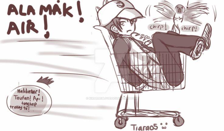 Boboiboy : chase the trolley by kirara13love