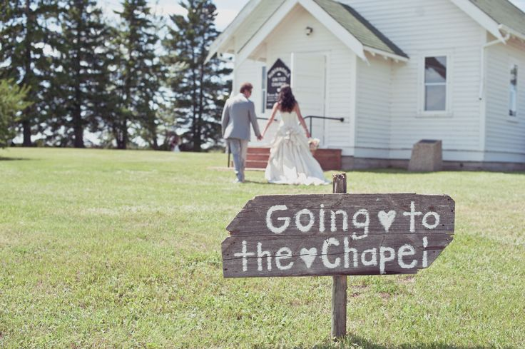 little white country church wedding <3 - Crimson Chickadee Photography