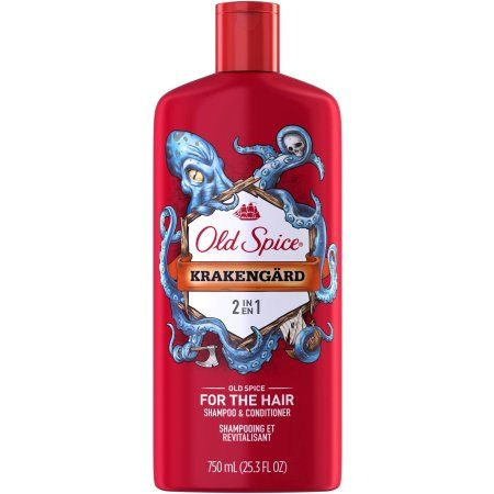Old Spice Krakengard 2in1 Men's Shampoo & Conditioner, 25.3 fl oz