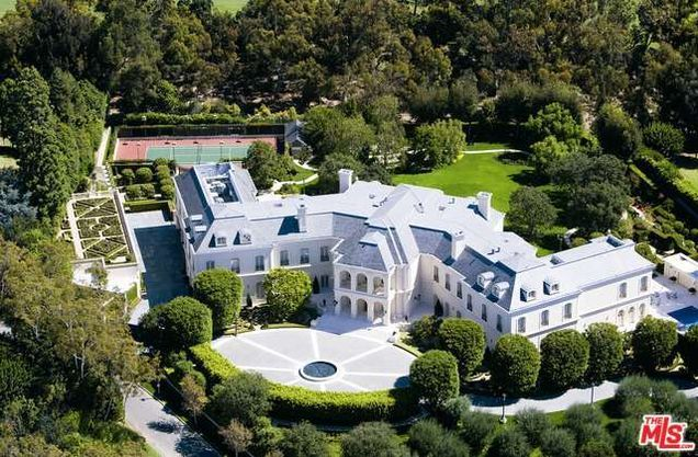 $200 million buys The Manor, built by Aaron and Candy Spelling.   http://www.estately.com/listings/info/594-s-mapleton-drive