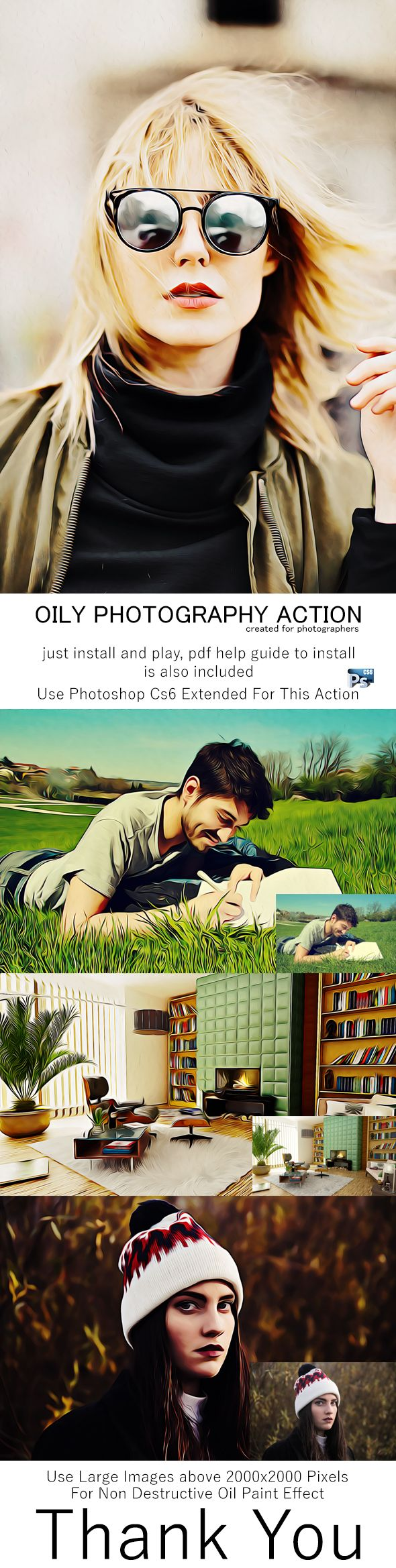 Oily Photography Action - Photo Effects Actions
