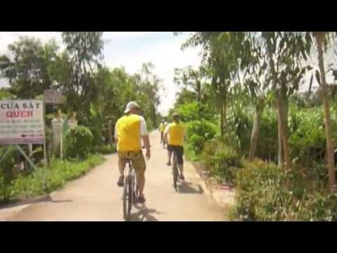 Cycle quiet paths & roads on the Mekong Delta, South Vietnam is an awesome experience.