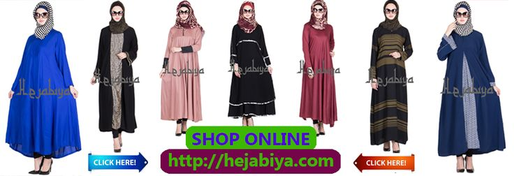 BUY ABAYA / BURQA / KAFTAN / JILBAB / NIQAB / HIJAB / HEADBAND / STOLE for WOMEN at http://hejabiya.com/ The combination of ethnicity, modernism and modesty  hejabiya.com is a clothing and accessories store which aims at designing classy and refined looks for all the women out there who are conservative yet like to be fashion forward. But who says in order to portray your inner fashionista, you have to compromise with your modesty? Here at hejabiya.com the perfect blend of modernity and…