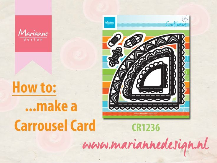How to make a Carrousel Card with the CR1236