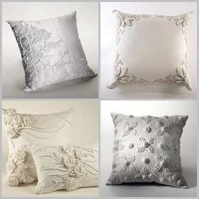 "Wedding dress pillows...next on my ""to sew"" list...i have planned on doing this for a while with my wedding dress!"
