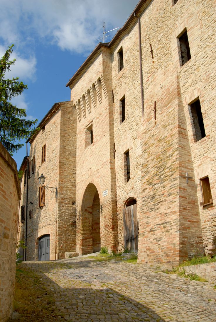 Cinta murarie di Ortezzano #marcafermana #ortezzano #fermo #marche