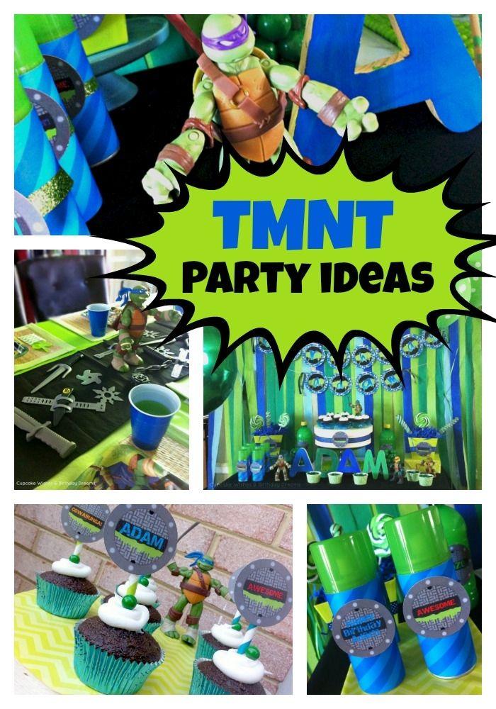 Teenage Mutant Ninja Turtles Birthday Party - Spaceships and Laser Beams