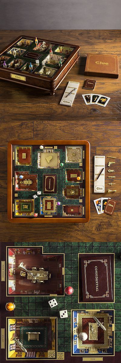 Other Indoor Games 36278: Ws Game Company Clue Luxury Edition -> BUY IT NOW ONLY: $199.99 on eBay!