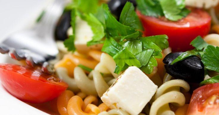 Recette - Salade de pâtes tricolores, tomates, et Caprice des Dieux   Notée 4/5
