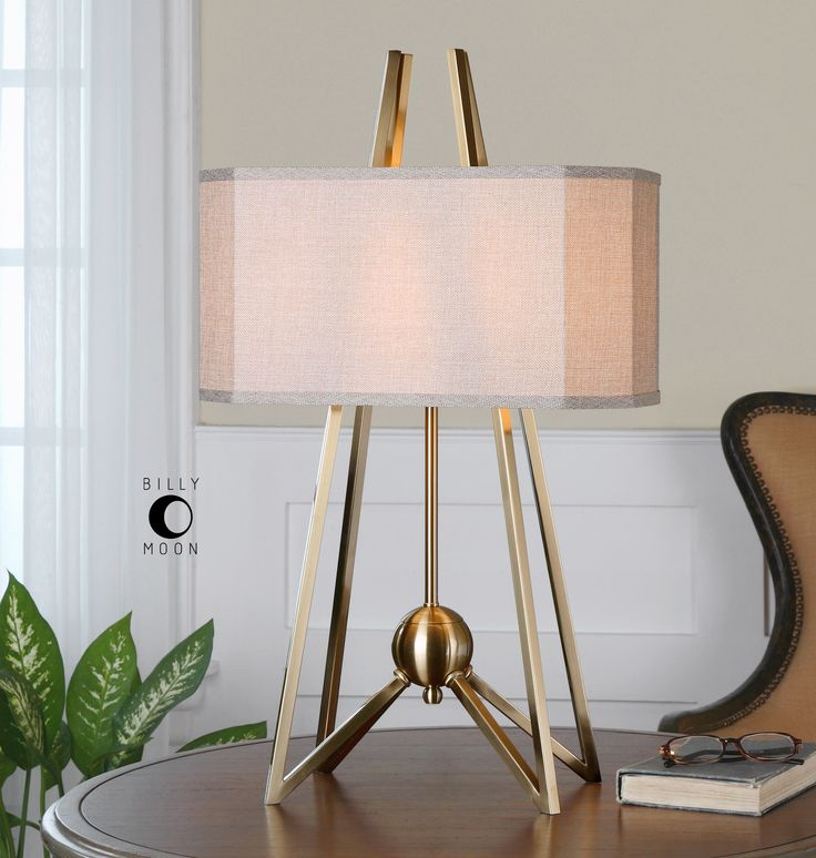 Uttermost Andar Coffee Bronze Two-Light Table Lamp | UT265951