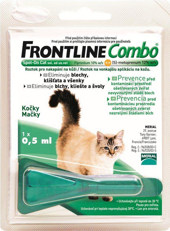 Merial Frontline Combo spot on Cat 1x 0,5 ml | MALL.CZ