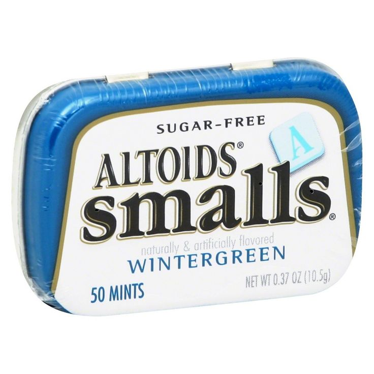 Altoids Smalls Wintergreen Sugar-Free Mints 50 ct