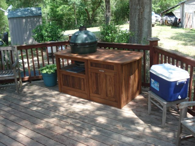 large big green egg table plans - Google Search