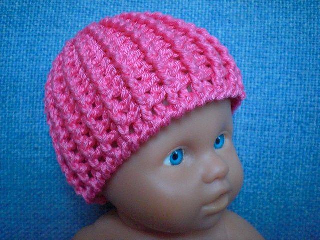 Crochet Hat Pattern For Premature Baby : 25+ best ideas about Crochet preemie hats on Pinterest ...