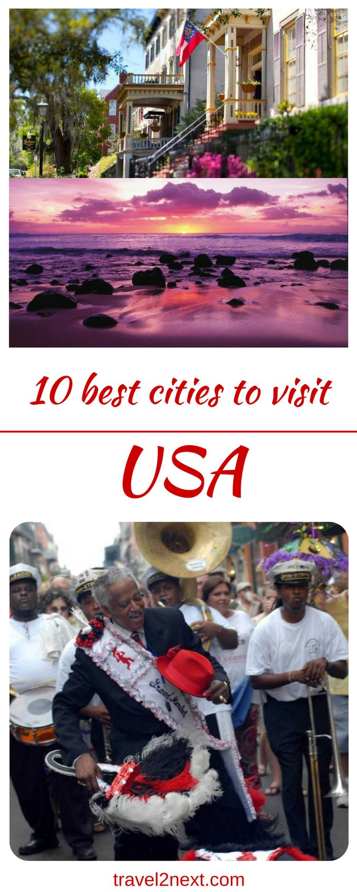 10 best cities to visit in the USA. With 50 states and hundreds of cities, the USA is a smorgasbord for travellers.