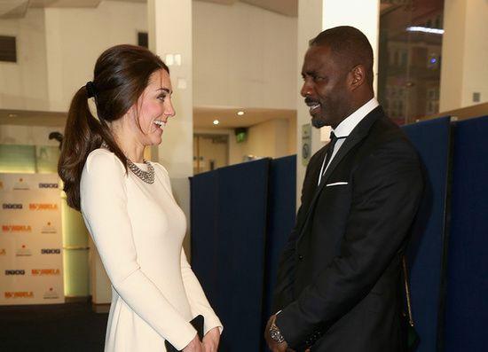 Even Kate Middleton can't keep it together in the presence of Stacker Pentecost!  ;)