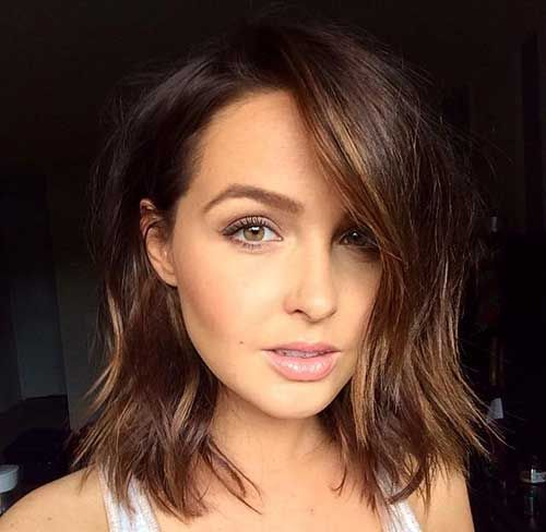 Remarkable 1000 Ideas About Long Brown Bob On Pinterest Purple Highlights Short Hairstyles For Black Women Fulllsitofus