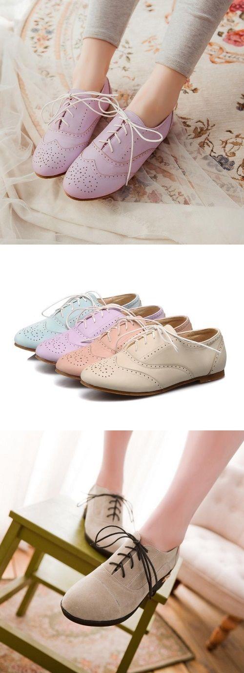 ¿Qué te parece nuestra colección de #zapatos #Oxfords para mujer? Encuéntralos en nuesta tienda
