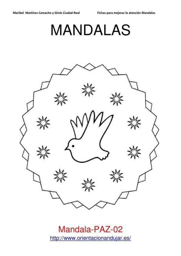 mandalas 30 enero (día de la paz)