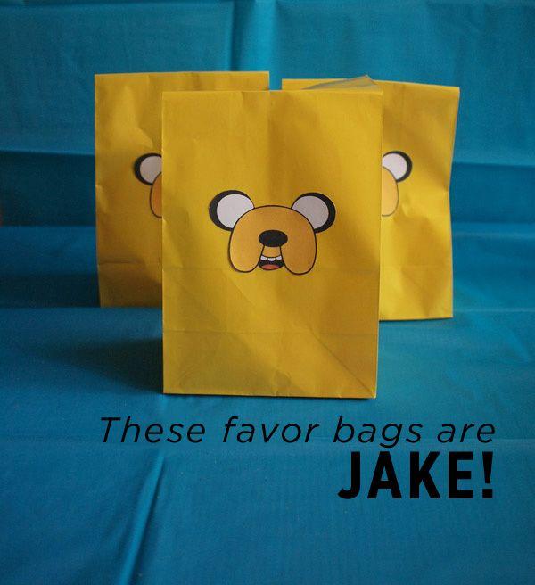 Adventure Time Birthday Fun! – Modern Kiddo. Whole buncha great ideas (Lumpy Space Princess rice krispy treats!)