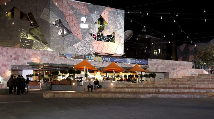 Federation square, Melbourne. by Awes Amin