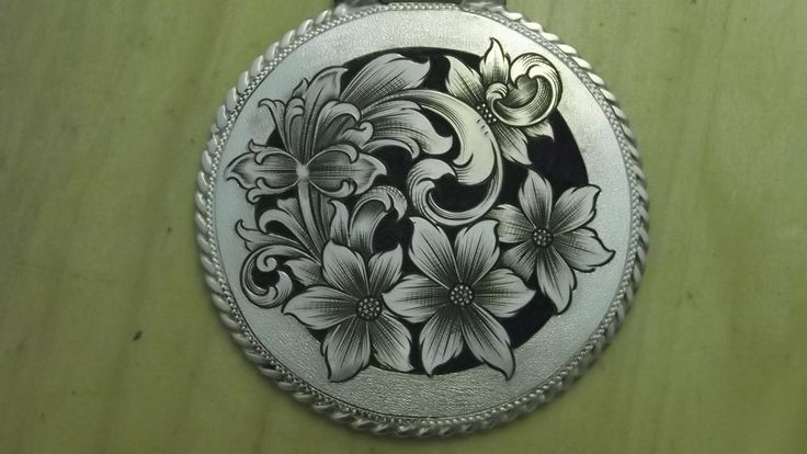 The Engraver's Cafe - The World's Largest Hand Engraving Community - Round pendant