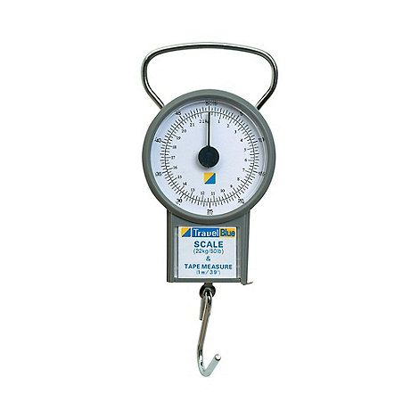 The Travel Blue Travel Scale enables you to maximise your luggage allowance. Hang luggage handle on hook, lift and read weight on display.