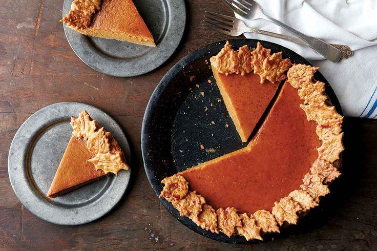 PJ Hamel No crack Pumkin Pie King Arthur Flour.