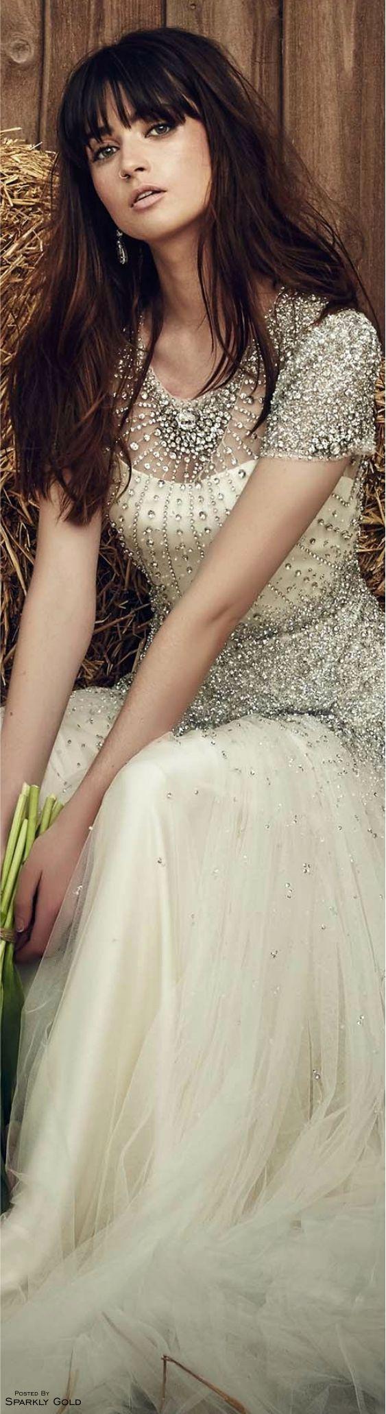 Jenny Packham Spring 2017 Bridal