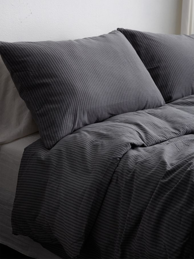 Black Tick Duvet Set from Our Most Wait-Listed Bedding on Gilt