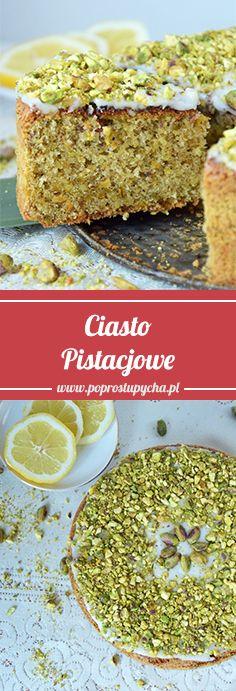 To pierwsze ciasto pistacjowe jakie zamieściłam na blogu! W smaku przeszło moje najśmielsze oczekiwania… Lekkie, biszkoptowe, mega pistacjowe, z cytrynowym posmakiem – jednym słowem pychotka :) #poprostupycha #ciasto #pistacje #pistacje_pl