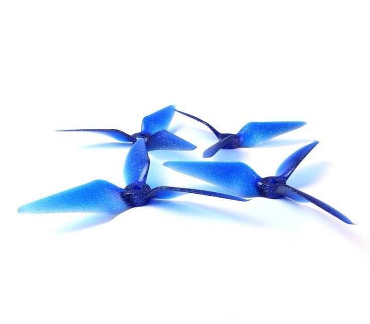 RaceKraft 5051 Tri Blade Props Midnight Star - Quadcopters.co.uk
