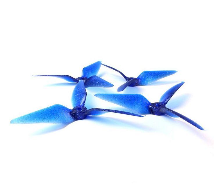RaceKraft 5051 Tri Blade Props Midnight Star - Quadcopters.co.uk
