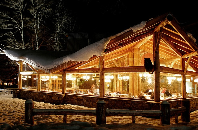 Desde el Restaurant del Cerro Castor, Ushuaia, Argentina.