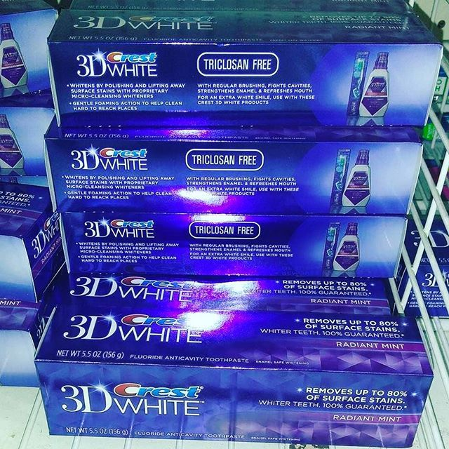 😁 crest 3D White toothpaste at #the99! #99community #99finds =