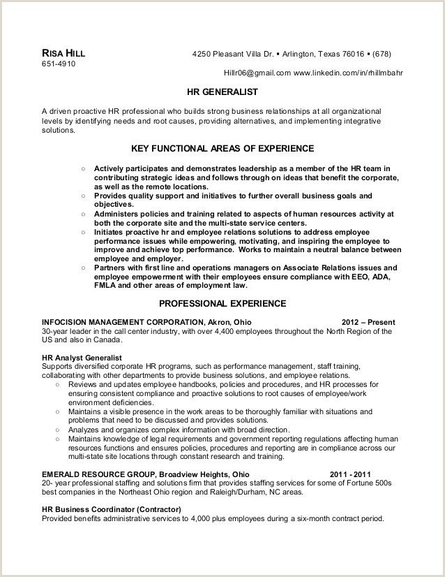 hr manager resume sample in 2020 objective cashier no experience sales example rn examples