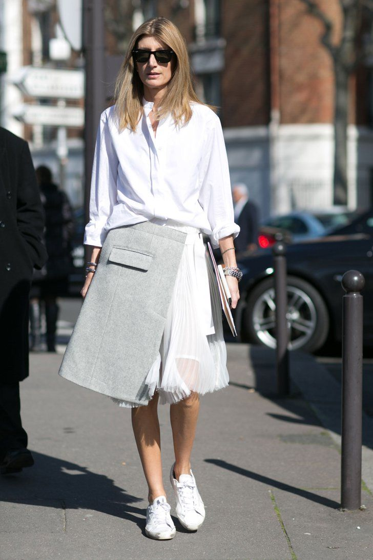 Pin for Later: The Best Street Style Snaps From Paris Fashion Week PFW Day Six Sarah Rutson