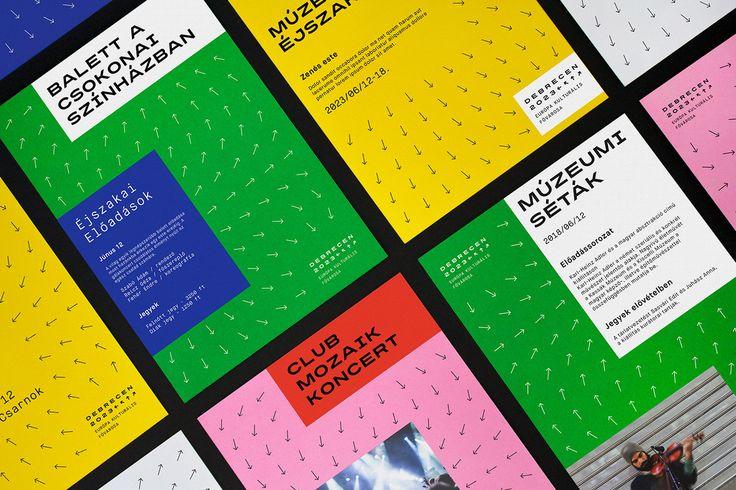 Branding for Debrecen 2023 by Classmate Studio See more: https://mindsparklemag.com/design/debrecen-2023-branding/  More news: Like Mindsparkle Mag on Facebook