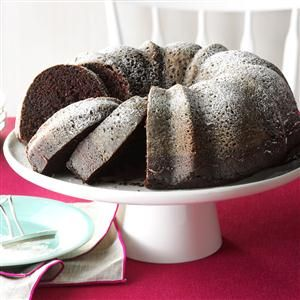 Contest-Winning Moist Chocolate Cake Recipe from Taste of Home