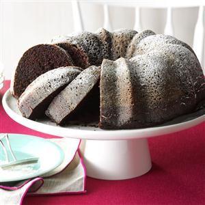 Contest-Winning Moist Chocolate Cake Recipe from Taste of Home