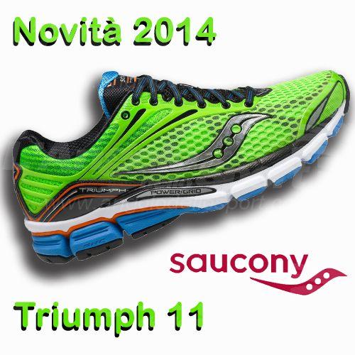 Novità #Running 2014: #Saucony Triumph 11! http://buff.ly/1mq8gmM