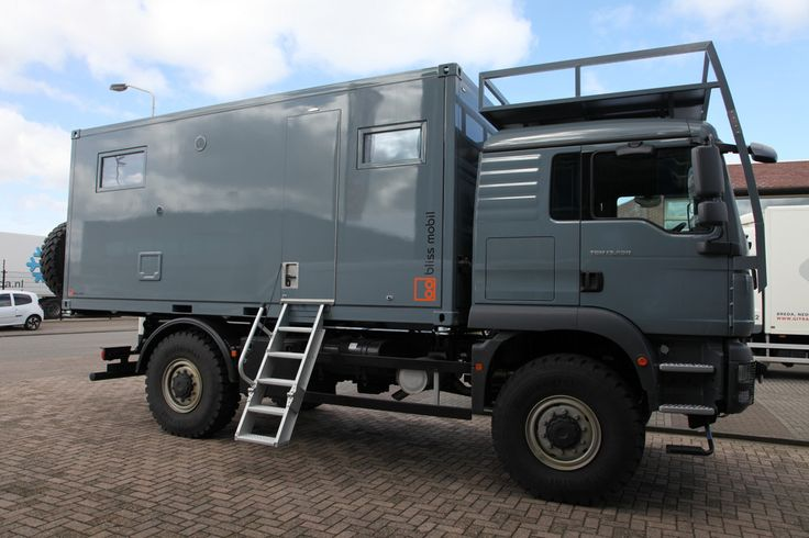 | Bliss Mobil Expedition Vehicle: The Freedom of Independence