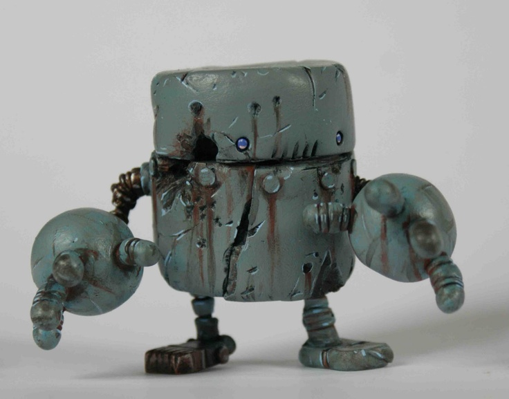 Space Cow Smith Productions: Rusty Robots Series 1: Bumble