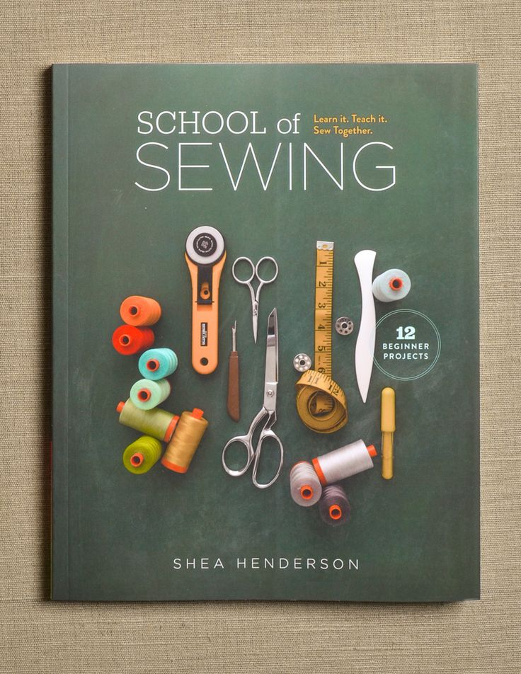 School of Sewing from Lucky Spool: School of Sewing allows you to follow along with a group of beginners who share one goal: to learn to use their sewing machines. This book is an engaging, detailed lesson plan designed to take you on that same journey, whether you are learning alone or as a group. It begins with easy-to-follow instructions for how to use a sewing machine and advice on buying fabric and tools and then progresses through 12 projects: one three-hour lesson a month, perfect for…
